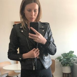 Levi's Leather Jacket Small *Worn Once